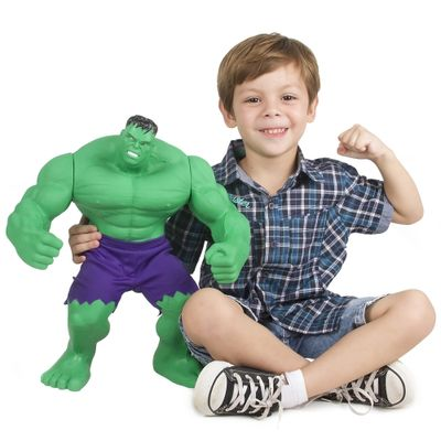 Boneco Hulk  Gigante - Mimo - Disney