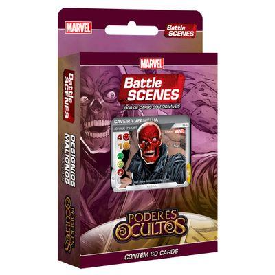 Deck-Designios-Malignos---Marvel-Battle-Scenes---Poderes-Ocultos---60-Cartas---Copag