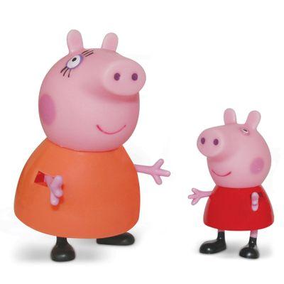 Figuras-Colecionaveis-Peppa-Pig-e-sua-Familia---Mamae-Pig-e-Peppa---Estrela