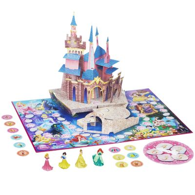 Jogo Castelo Pop-Up Magic 3D - Princesas Disney - Hasbro