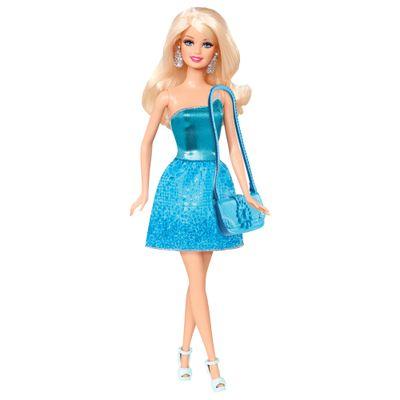 Boneca-Barbie-Basica-Glitz-Vestido-Azul-Mattel