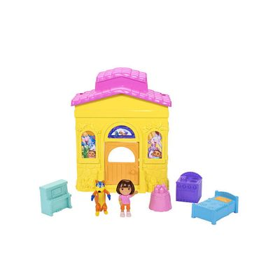 Playset Casa de Aventuras Dora - Fisher Price