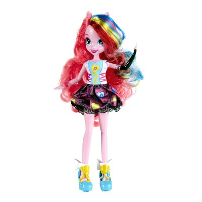 Boneca Equestria Girls Rainbow Rock - My Little Pony - Pinkie Pie - Hasbro