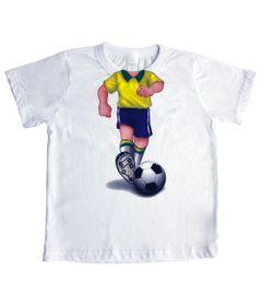 Camiseta-Manga-Curta-Jogador-de-Futebol---Branco---Mini-Mix---GBaby---MXCAM1612