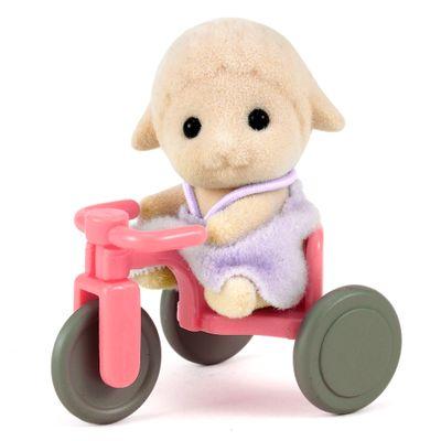 Sylvanian-Families---Bebe-Ovelha-com-Triciclo---Epoch