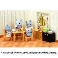 Sylvanian-Families---Moveis-de-Cozinha-com-Irma-Gato---Epoch