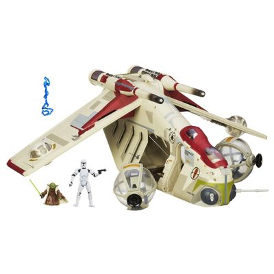 Nave Republic Gunship - Star Wars - Hasbro - Disney