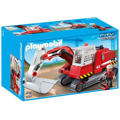 Playmobil-City-Action---Escavadeira---5282