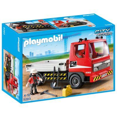 Playmobil-City-Action---Caminhao-de-Construcao---5283