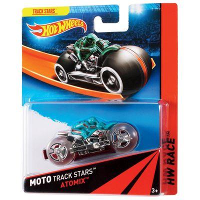 Moto Hot Wheels - Track Stars - Atomix - Mattel