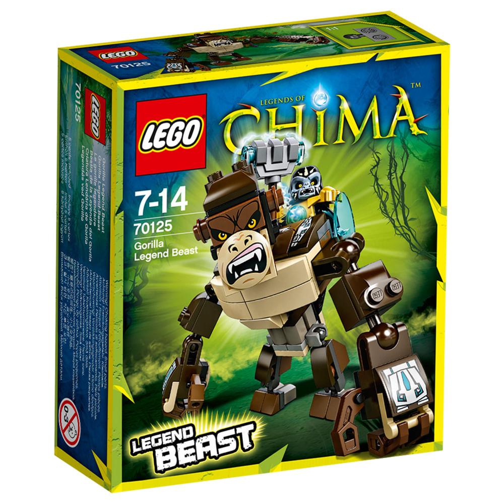 70125 - LEGO Chima - Criatura Lendária de Gorila