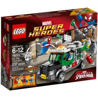 76015---LEGO-Super-Heroes---Spider-Man--O-Caminhao-de-Assalto-de-Doc-Octopus