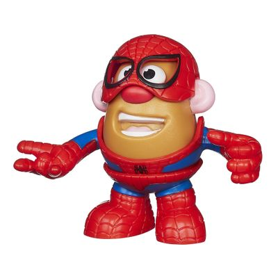 Mini Figura Transformável - Mr. Potato Head - Marvel - Homem Aranha - Hasbro - Disney