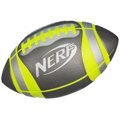 Bola de Futebol Americano Nerf Sports Preta - Hasbro