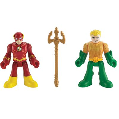 Heróis Liga da Justiça Imaginext - Aquaman e The Flash - Fisher-Price