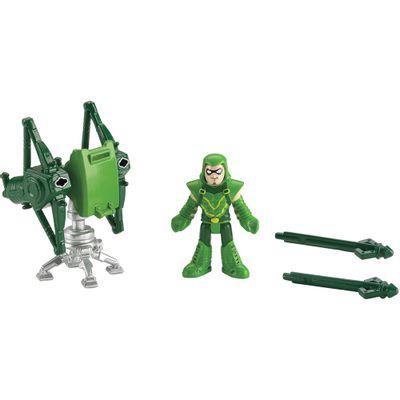 Heróis Liga da Justiça Imaginext - Arqueiro Verde e Lançador - Fisher-Price