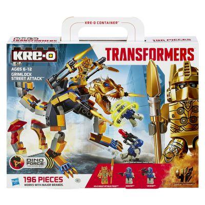 Kre-o-Transformers---Grimlock-Street-Attack---Hasbro