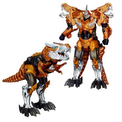 Boneco Transformers 4 - Flip and Change - Grimlock - Hasbro