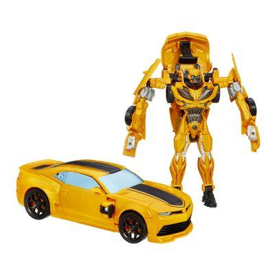 Boneco Transformers 4 - Flip and Change - Bumblebee - Hasbro