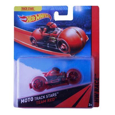 Moto Hot Wheels - Track Stars - Team Red - Mattel