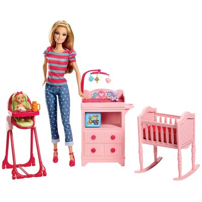 Boneca Barbie Profissões - Berçário - Mattel