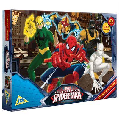 Quebra-Cabeça - Ultimate Siper-Man - 100 Peças - Toyster - Disney