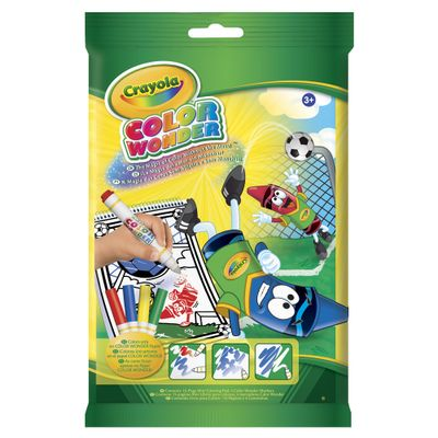 Kit-Mini-Canetinha-Color-Wonder-Copa-do-Mundo---4-Canetas---Crayola