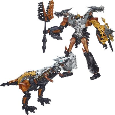Boneco-Transformers-4-Generations-Leader---Grimlock---Hasbro---A6516---A6518