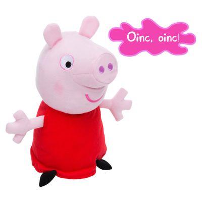 Pelúcia Peppa Pig com Som - 30 cm - Estrela