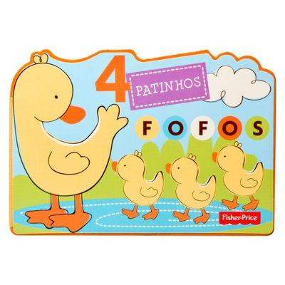 Livro-Bloco-Animal---4-Patinhos-Fofos---Fisher-Price