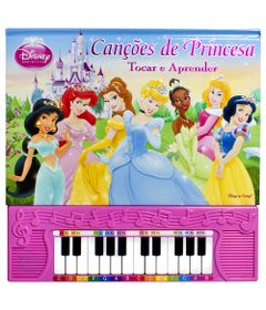 Livro-Princesas-Disney---Cancoes-de-Princesa---DCL
