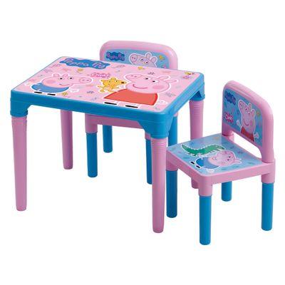 Mesa-Infantil-com-Cadeiras-da-Peppa---Multibrink