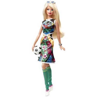 Boneca-Barbie-Colecionavel---Romero-Britto---Mattel---BCP98