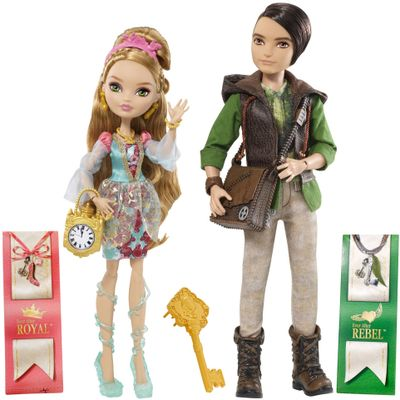 Bonecas-Ever-After-High---Ashlynn-Ella-e-Hunter-Huntsman---Mattel---BFX08---BBD48