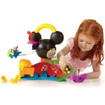 Conjunto Mickey Mouse Clubhouse - Nova Casa do Mickey - Fisher-Price - Disney