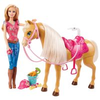 Boneca-Barbie-Family---Barbie-com-Cavalo---Mattel---BJX85