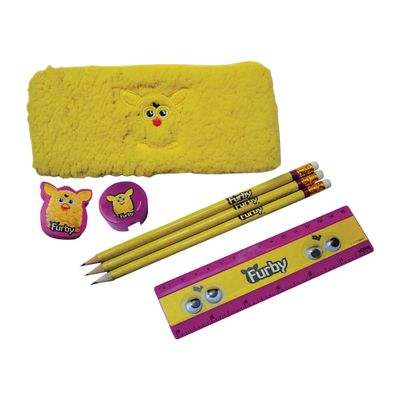 Kit-Escolar-Furby---7-itens---Amarelo---Conthey