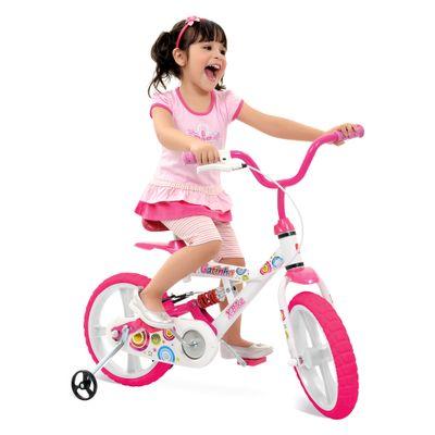 Bicicleta X-Bike Aro 14 - Gatinha - Bandeirante