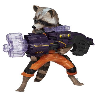 Boneco Guardiões da Galáxia - Big Blastin Rocket Raccoon - Hasbro - Disney