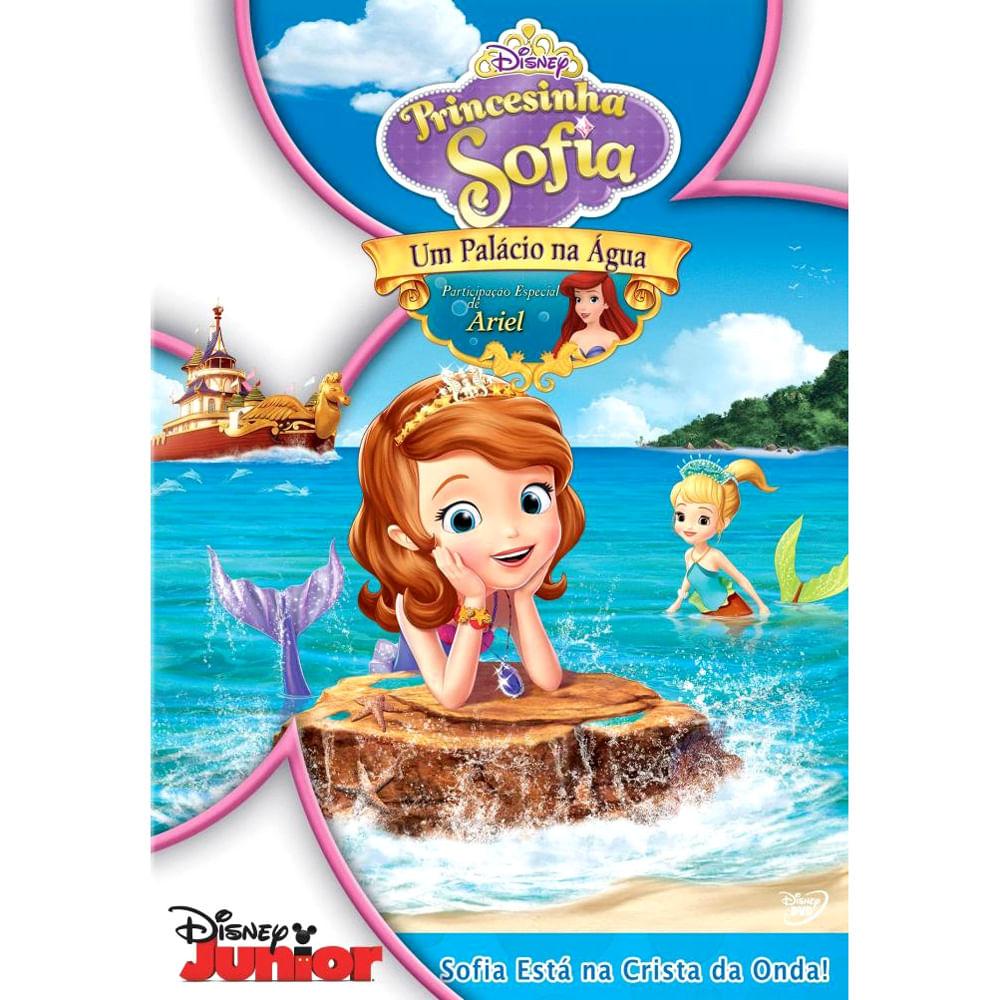 DVD Princesinha Sofia - Um Palácio na Água - Disney
