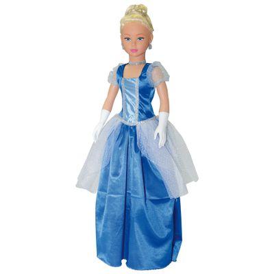 Boneca Stephany Conto de Fadas - Cinderela - Baby Brink - Disney