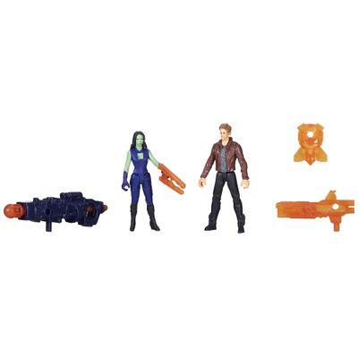 Bonecos-Guardioes-da-Galaxia---10-cm---Peter-Quill-e-Gamora---Hasbro
