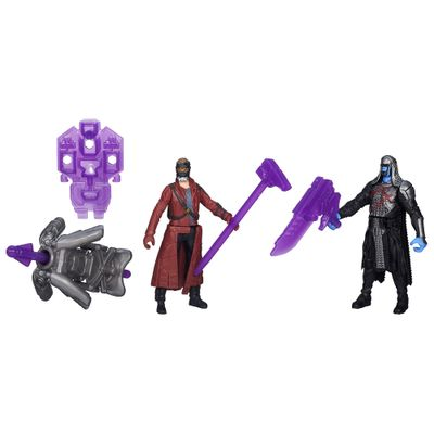 Bonecos-Guardioes-da-Galaxia---10-cm---Ronan-e-Star-Lord---Hasbro