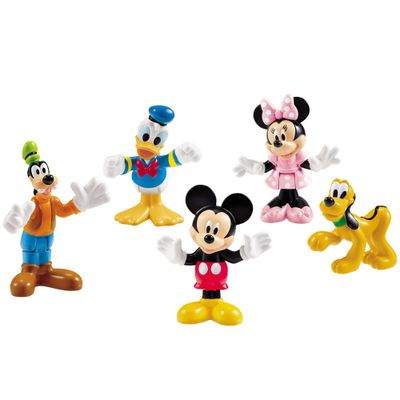 Mickey e Seus Amigos - Mickey Mouse Clubhouse - Fisher-Price - Disney