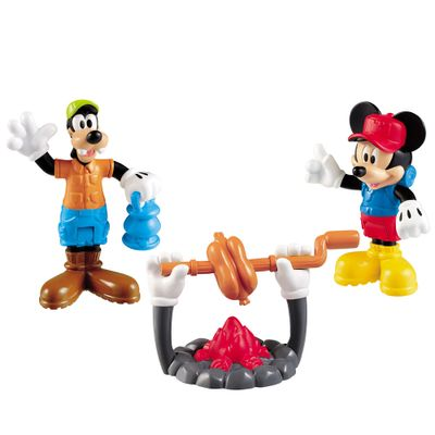 Pack com 2 Figuras - Mickey Mouse Clubhouse - Acampamento - Fisher-Price - Disney