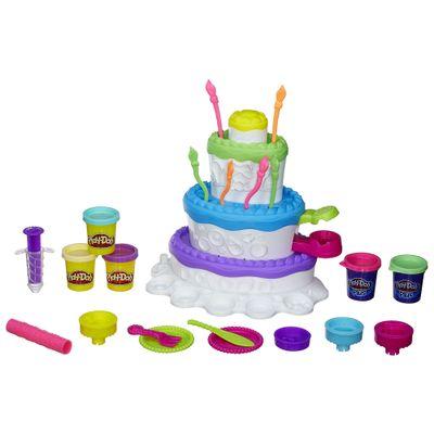 Conjunto Fábrica de Bolos Play-Doh - Hasbro