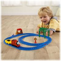 BGL97-BGM70-Ferrovia-Thomas-e-Friends-James-na-Estacao-Knapford-Fisher-Price