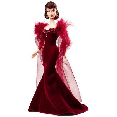 Boneca-Barbie-Colecionavel-E-O-Vento-Levou---Scarlett-O-Hara---Mattel