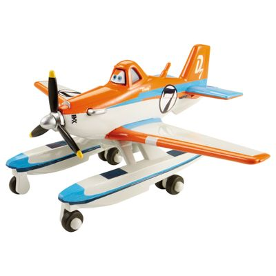 Aviao-Planes-2-Fire-and-Rescue---Racing-Dusty-com-Pontoons---Mattel