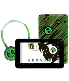 Tablet-Android-4.2-Ben-10-com-Headphone---Tela-7-Multi-Touch-e-Memoria-Interna-8GB---Candide